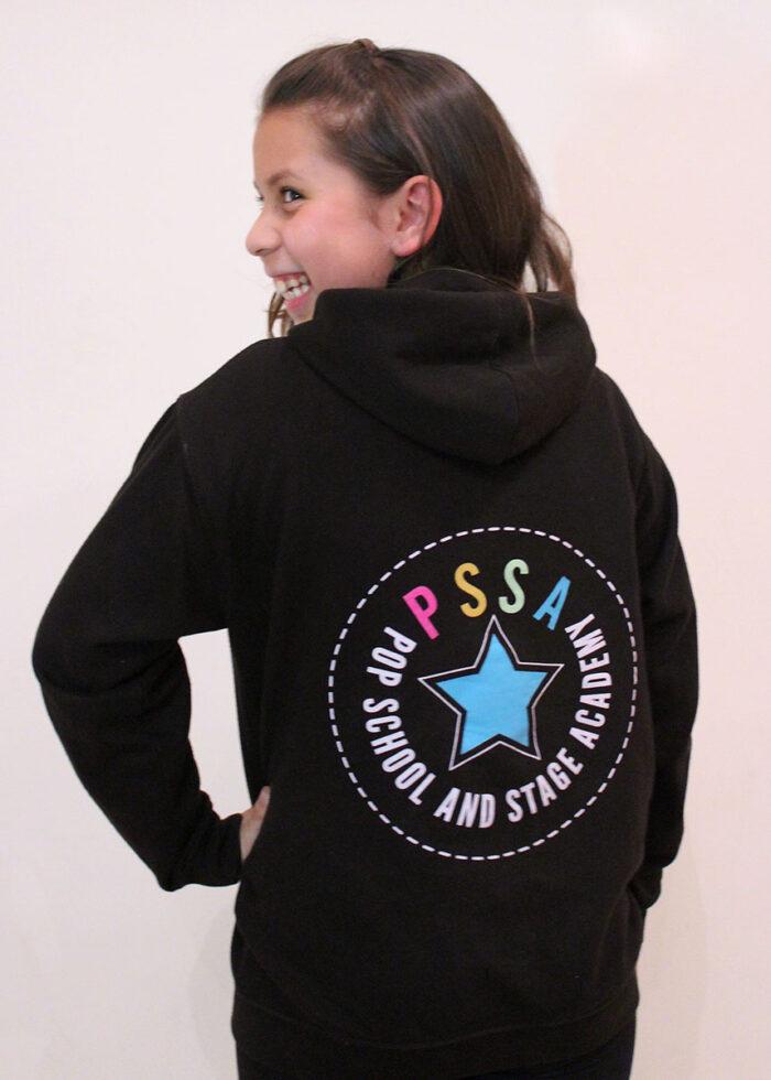 PSSA zip-up hoodie
